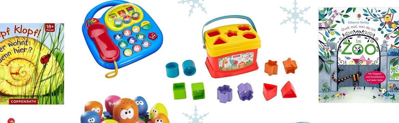 Geschenke für Kinder ab ca. 1 Jahr