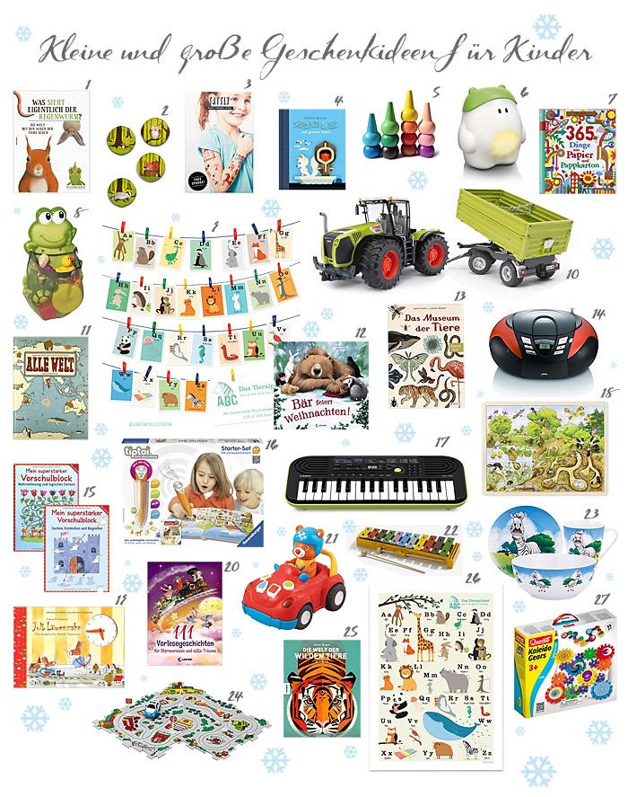 Geschenkideen für Kinder ab 3 Jahren