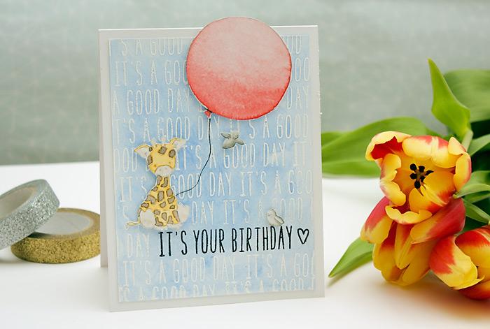 Tierische Geburtstagskarten | Wplus9 Party Animal + Lawn Fawn Milo's ABC