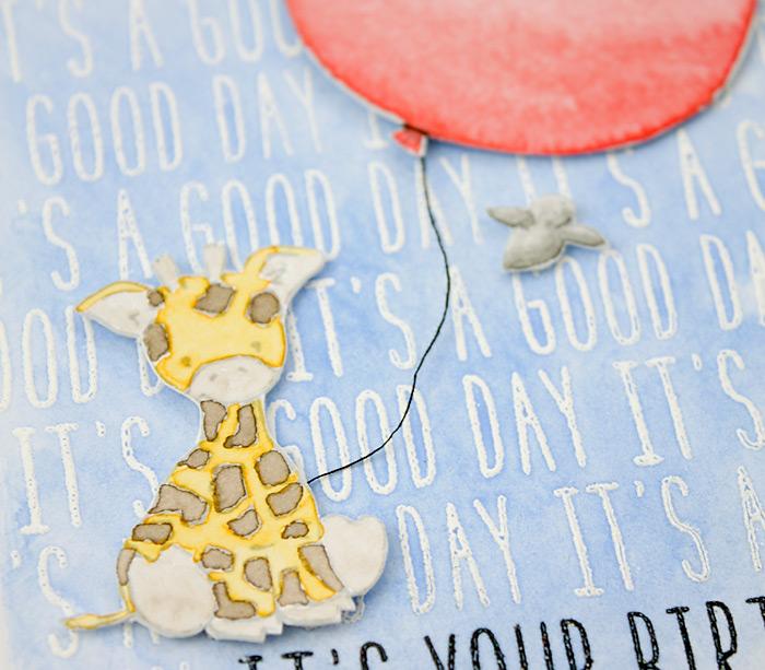 Tierische Geburtstagskarten | Wplus 9 Party Animal + Lawn Fawn Milo's ABC