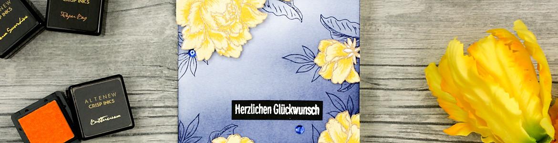 wieesmirgefaellt.de | Herzlichen Glückwunsch | Altenew Peony Bouquet