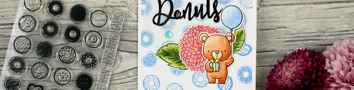 wieesmirgefaellt.de | Bärige Glückwünsche - Beary wishes | My Favourite Things Beary Special Birthday | Aquarell Watercolor