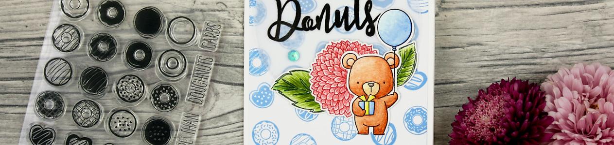 wieesmirgefaellt.de | Bärige Glückwünsche - Beary wishes | My Favourite Things Beary Special Birthday | Aquarell Watercolor