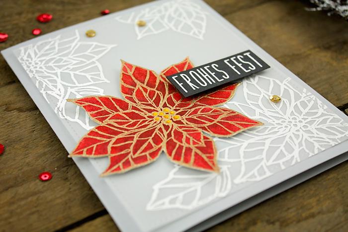 wieesmirgefaellt.de | MFT Winter warmth + Stampin up Poinsetta | Christmas cards