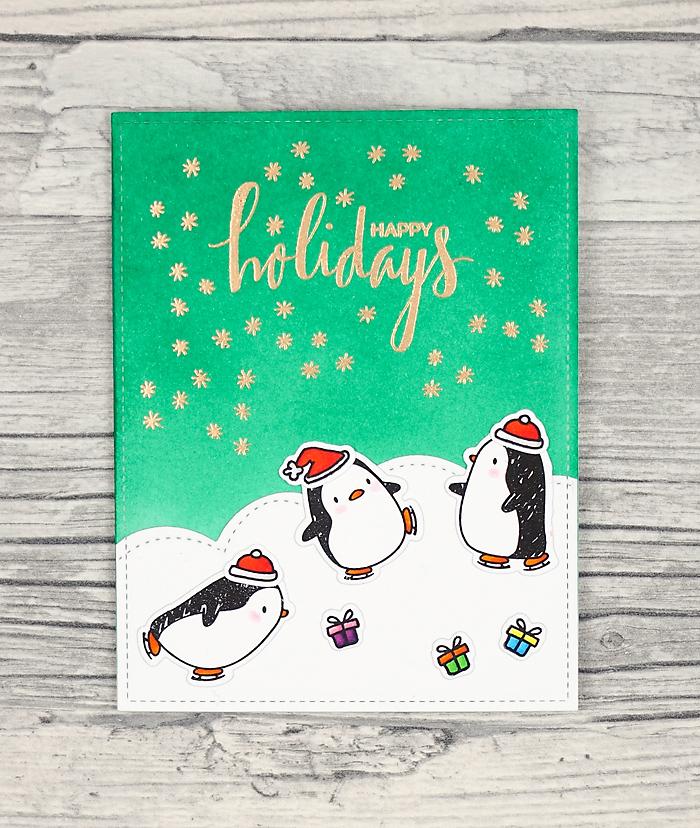 wieesmirgefaellt.de   Noch mehr Pinguine - Even more penguins   Mama Elephant Arctic Penguins