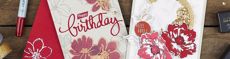 wieesmirgefaellt.de   Altenew Inspiration Challenge   Wild Hibiscus + Beautiful Day