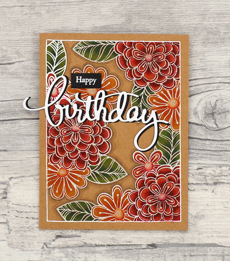 wieesmirgefaellt.de | Happy Birthday Karten / cards | CAS-ual Friday Pretty Posies