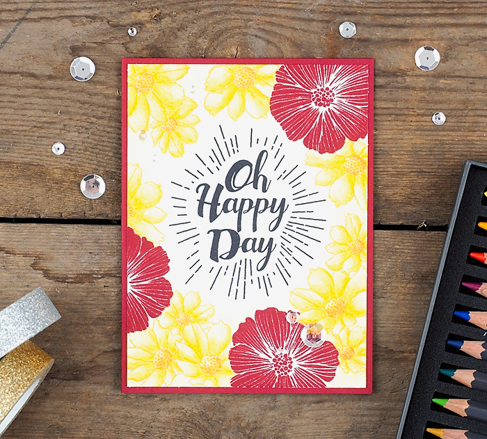 wieesmirgefaellt.de | Oh Happy Day - Simon Says Stamp | Grußkarten Greetingcards