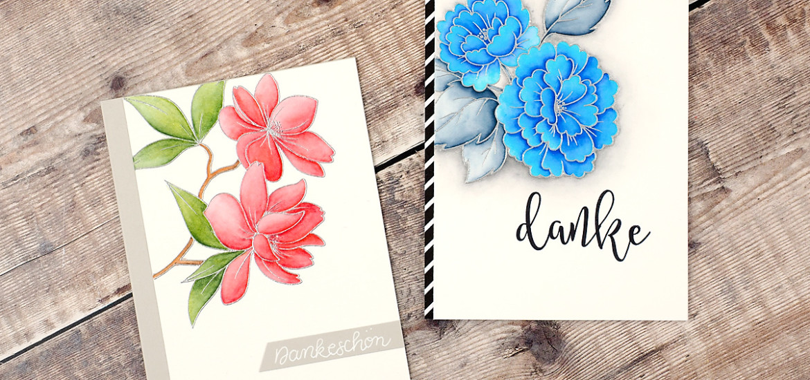 Dankekarten - Thank you cards | Clearlybesotted - On Your Day + Make A Wish