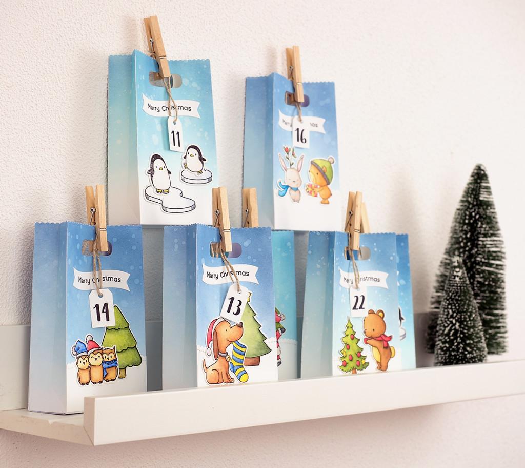 Unser Kinder-Adventskalender 2017 - Geschenke unter 10 Euro | Mama Elephant - Favor Bag