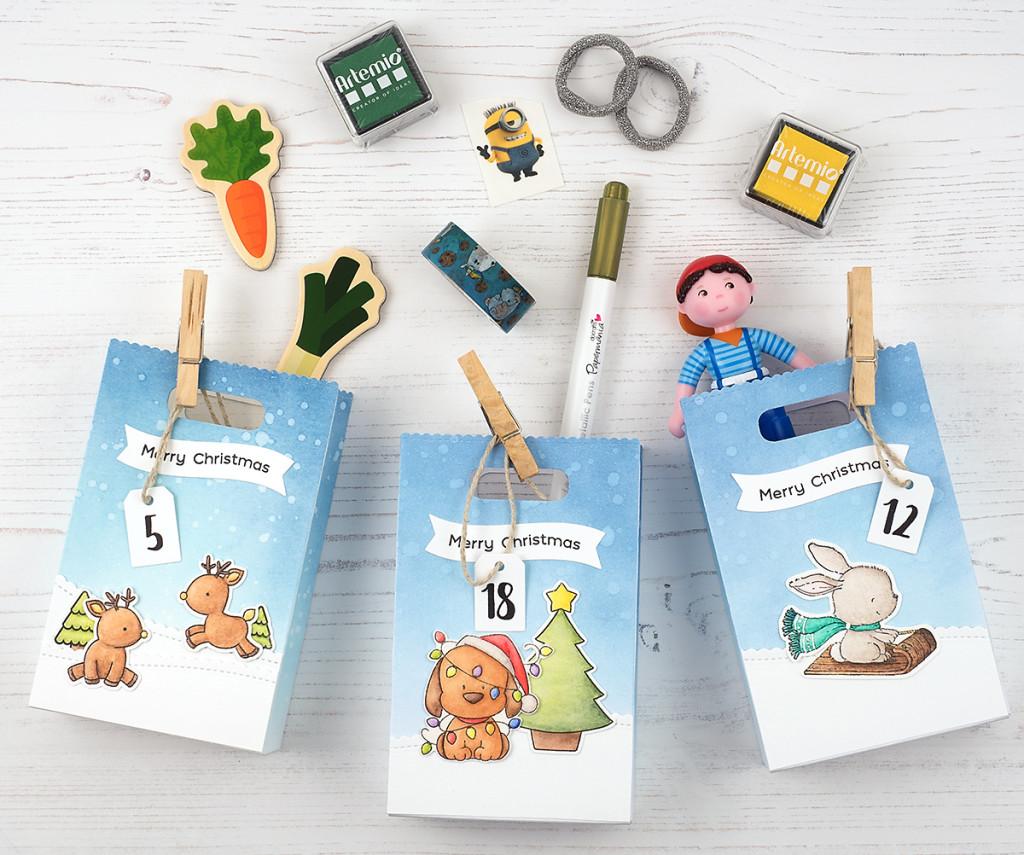 In unserem Kinder-Adventskalender 2017 - Geschenkideen unter 10 Euro
